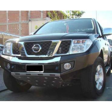 Pare-choc Nissan Navara 2010-15 Noir/chrome