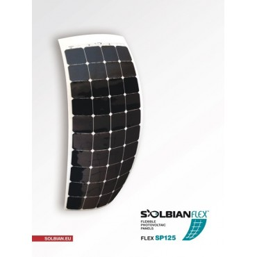 PANNEAU SOLAIRE SOLBIAN SP125