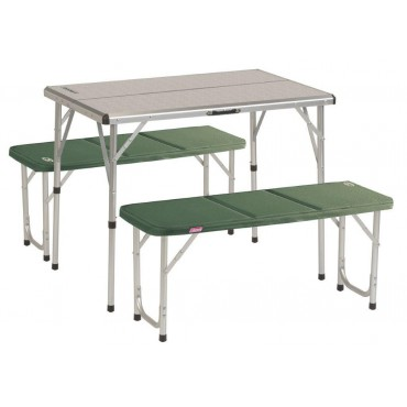 TABLE PLIABLE ALU COLEMAN PACK AWAY FOR 4