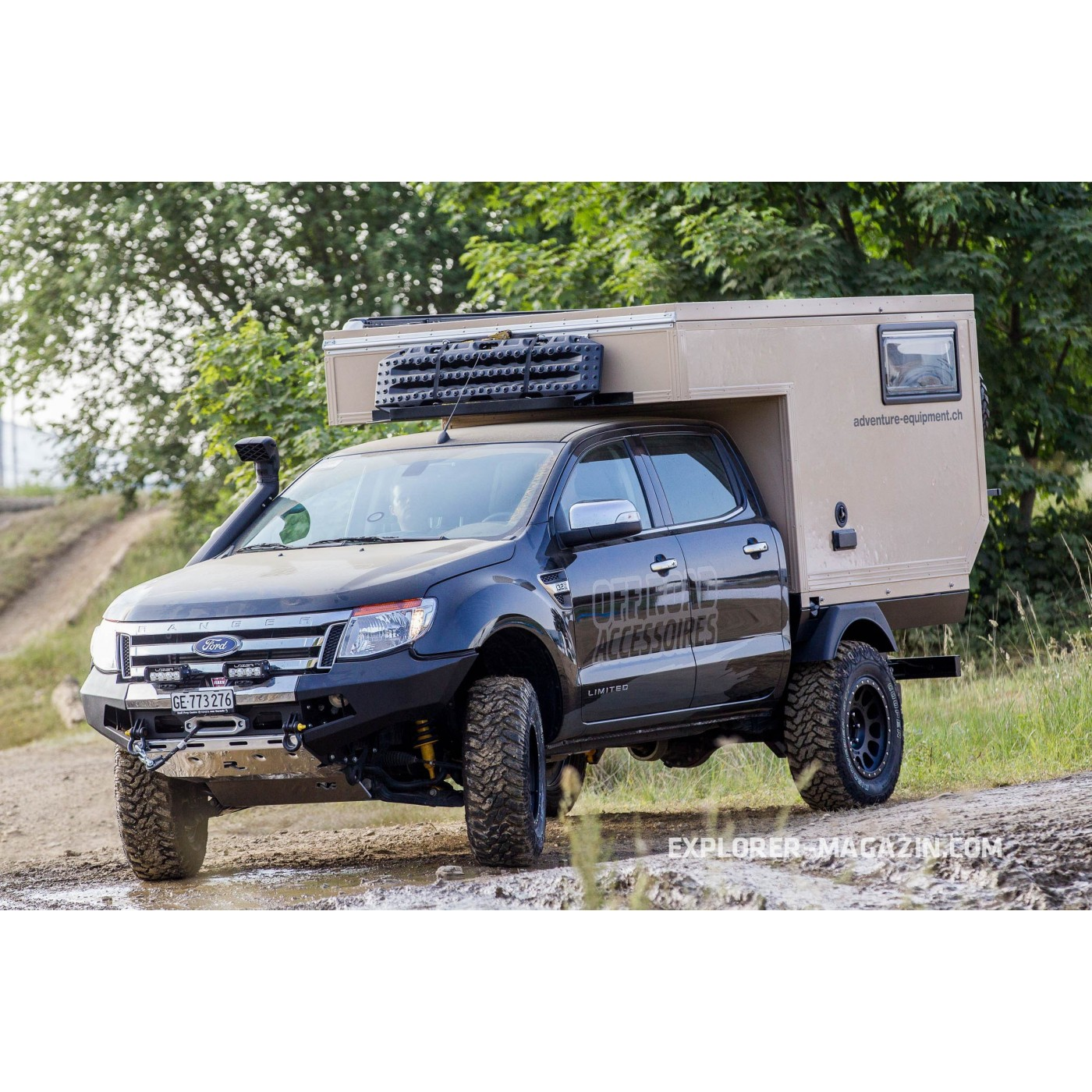 small ford ranger camper