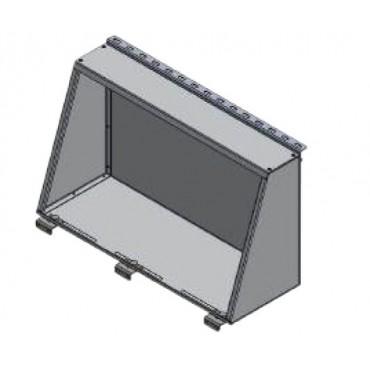 Alu-Cab Aluminium-Staubox 1250
