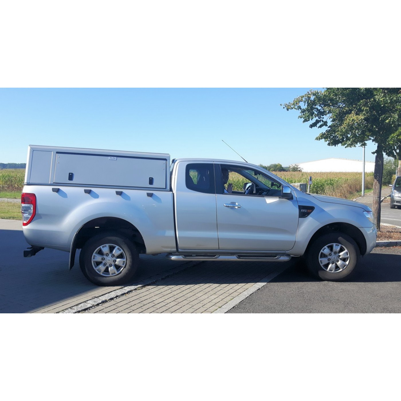 Hard-Top Alu-Cab Ford Ranger 2012+ ExtraCab