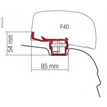 Kit montage F40 VW T5/T6...