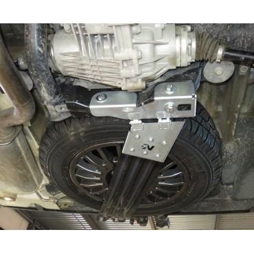 Kit panier porte-roue VW T5/T6